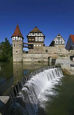 Zollern Castle Balingen an der Eyach, Wehr, Balingen, Baden-Wuerttemberg, Germany, Europe