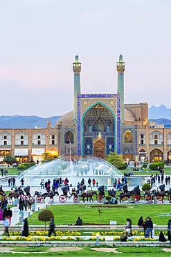 Masjed-e Imam Mosque, Maydam-e Iman square, Esfahan, Iran, Asia
