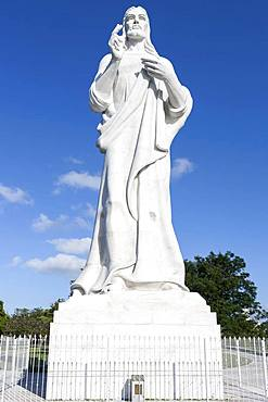 Statue of Christ, Cristo de La Habana, Havana, Cuba, Central America