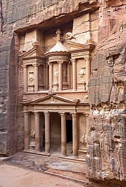 The Treasury, Al-Khazneh, Petra, Jordan, Asia