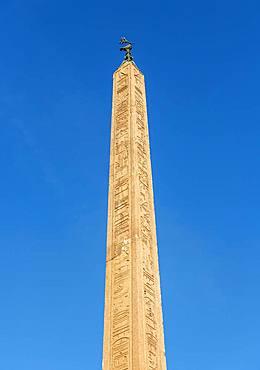 Egyptian obelisk, Piazza Navona, Rome, Italy, Europe