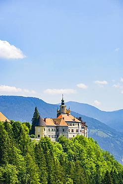 Strechau Castle, Rottenmann, district of Lienz, Styria, Austria, Europe
