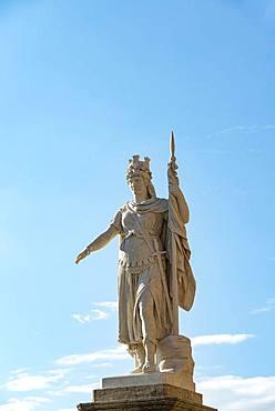 Neoclassical statue, Statua della Liberta, Piazza della Liberta, San Marino City, San Marino, Europe