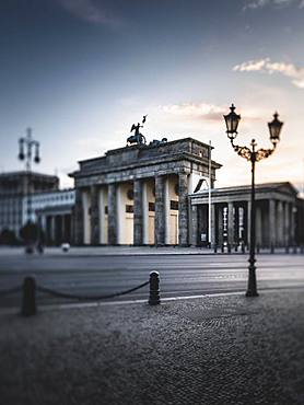 Brandenburg Gate, Berlin, Germany, Europe