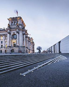 Reichstag and government district, Berlin, Germany, Europe