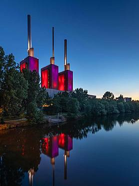 Linden power plant, Hanover, Germany, Europe