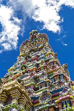 Hindu Temple, Sri Navasakthi Vinayagar Temple, Port Victoria, Mahe, Seychelles, Africa