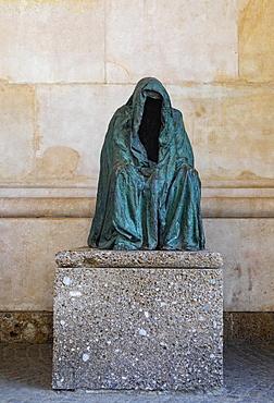 Bronze statue, Pieta, Salzburg Cathedral, Salzburg, Austria, Europe