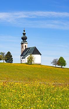 Church of Saint George in Sommerholz, Irrsberg, Oberhofen, Salzkammergut, Upper Austria, Austria, Europe