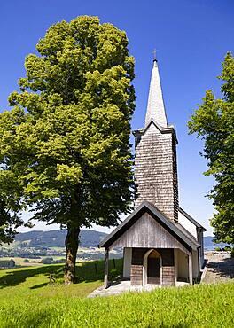 Kronberg Chapel near Attersee am Attersee, Salzkammergut, Upper Austria, Austria, Europe