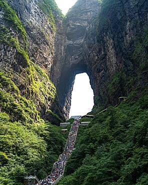 Gate oh Heaven, Tianmen Mountain, China, Asia