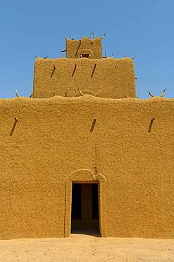 Traditional house, loam construction, Agadez, Niger, Africa