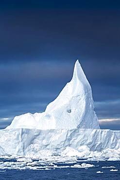 Large iceberg at Disko Bay, Ilulissat, Disko Bay in Greenland