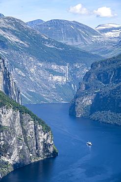 Geirangerfjord, near Geiranger, More og Romsdal, Norway, Europe