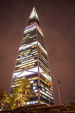 Al Faisaliyah Centre skyscraper, Riadh, Saudi Arabia, Asia