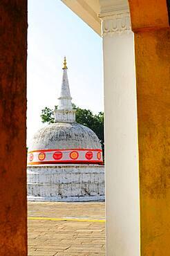 Stupa, temple town Anardhapura, Sri Lanka, Asia
