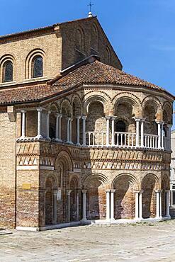 Basilica dei Santi Maria e Donato, Murano, Murano Island, Venice, Veneto, Italy, Europe