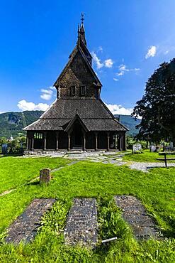 Hopperstad Stave Church, Vikoyri, Norway, Europe