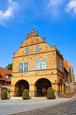 City Hall Gadebusch, Mecklenburg-Western Pomerania, Germany, Europe