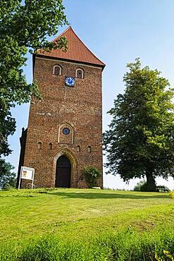 Village church Muehlen Eichsen, Mecklenburg-Western Pomerania, Germany, Europe