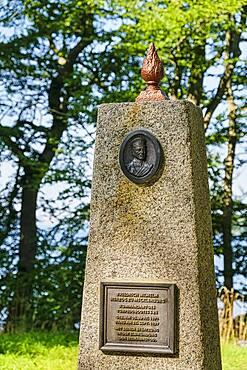 Monument Friedrich Wilhelm zu Mecklenburg, Raben Steinfeld, Mecklenburg-Western Pomerania, Germany, Europe