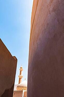 Nizwa Fort, Nizwa Mosque, Nizwa, Sultanate Of Oman