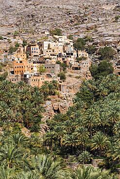 Buldings at Misfat al Abriyyin, Ad Dakhiliyah, Sultanate Of Oman