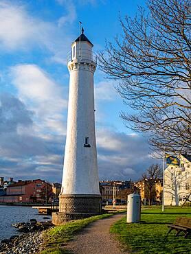 Lighthouse on the Baltic Sea, Karlskrona, Sweden, Europe