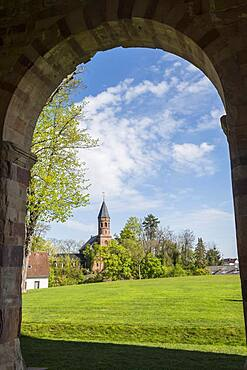 Unesco world heritage site the Abbey of Lorsch, Hesse, Germany, Europe