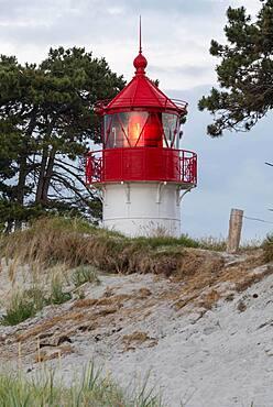 Lighthouse Gellen, built 1905, Hiddensee Island, Mecklenburg-Western Pomerania, Germany, Europe