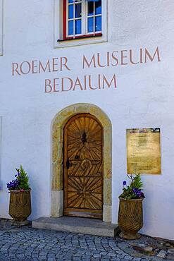 Roman Museum, Bedaium, Seebruck, Chiemsee, Chiemgau, Upper Bavaria, Bavaria, Germany, Europe