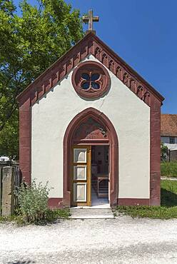 Chapel from 1861, Franconian Open Air Museum, Bad Windsheim, Middle Franconia, Bavaria, Germany, Europe
