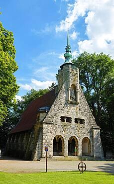 Chapel, King Gustav Adolf of Sweden Memorial, Battle of Luetzen 1632, Luetzen, Saxony-Anhalt, Germany, Europe