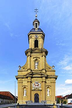 Parish Church of St. Mauritius, Wiesentheid, Lower Franconia, Franconia, Bavaria, Germany, Europe