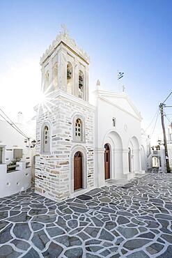 Greek Orthodox Church, Marpissa, Paros, Cyclades, Greece, Europe