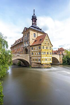 Old Town Hall, part of the Unesco World Heritage Site, Bamberg, Bavaria, Germany, Europe