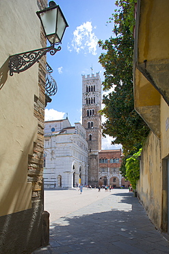St. Martin Cathedral, Lucca, Tuscany, Italy, Europe