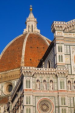 The Duomo (Santa Maria del Fiore), Florence, UNESCO World Heritage Site, Tuscany, Italy, Europe