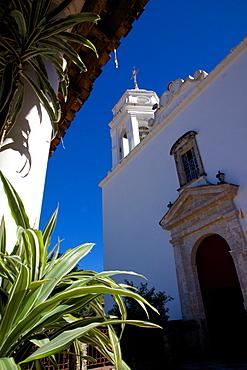 View of Church Belltower, San Sebastian del Oeste (San Sebastian) Jalisco, Mexico, North America