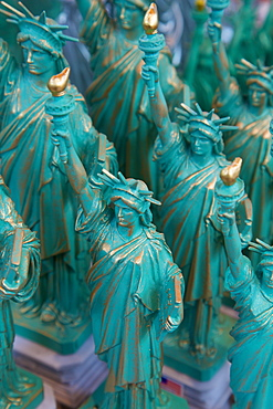 Statue of Liberty souvenirs, New York, United States of America, North America