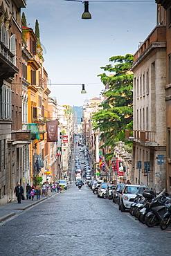 Via Sistina, Rome, Lazio, Latium, Italy, Europe