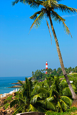 The Lighthouse, Kovalam, Kerala, India, Asia