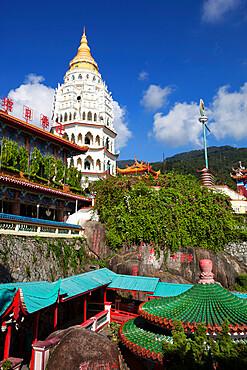 Kek Lok Si Temple, Crane Hill, Georgetown, Pulau Penang, Malaysia, Southeast Asia, Asia