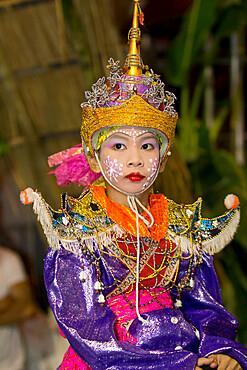 Loi Krathong festival, Chiang Mai, Northern Thailand, Thailand, Southeast Asia, Asia