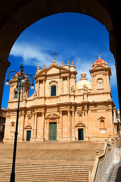 The Duomo, Noto, Sicily, Italy, Europe
