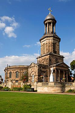 St. Chad's Church, St. Chad's Terrace, Shrewsbury, Shropshire, England, United Kingdom, Europe