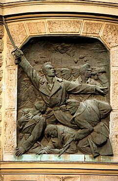 First World War memorial, Andrassy ut, Budapest, Hungary, Europe