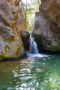 Potami waterfalls, near Karlovassi, Samos, Aegean Islands, Greece