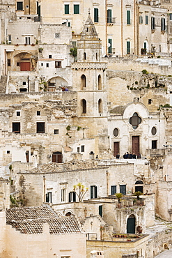 Sasso Barisano, Matera, Basilicata, Italy, Europe