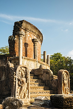 Vatadage Temple, Polonnaruwa, UNESCO World Heritage Site, North Central Province, Sri Lanka, Asia